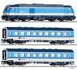TT - Analogový start set s lokomotivoi TRAXX a osobními vozy - CD