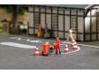 H0 - Stroj na značení silnic s figurkou a příslušenstvím