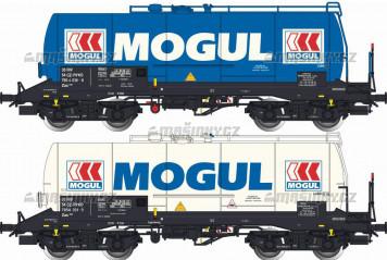 """H0 - Set dvou kotlových vozů Zas """"MOGUL"""" - CZ RIKO"""