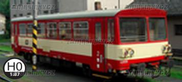 H0 - Přípojný vůz Btax 780 - ČD