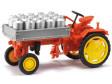 H0 - Traktor RS09 s konvemi mléka