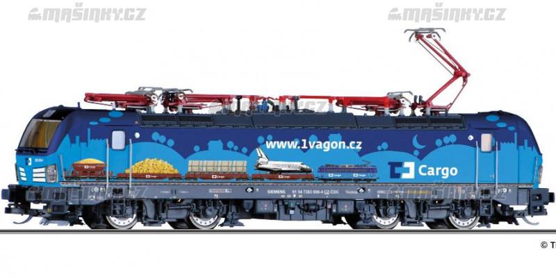 TT - El. lokomotiva 383, ČD Cargo (analog) #1