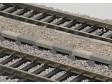 H0 - Sypané nástupiště - rovný díl