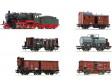"""H0 - 6dílná souprava """"Pruský nákladní vlak"""", K.P.E.V. (analog)"""