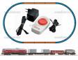 H0 - Analogový start set s nákladním vlakem - ČSD