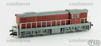 TT - Dieselová lokomotiva T669.008 - ČSD (analog)