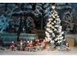 H0 - Osvětlený vánoční stromeček