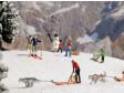 H0 - Sáňky a lyže