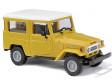 H0 - Toyota Land Cruiser J4, žlutý