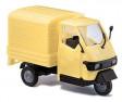 H0 - Stavebnice Piaggio Ape 50, žlutý