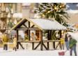 H0 - Vánoční trh - Stánek se svařeným vínem