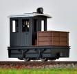 H0e - Pracovní lokomotiva černá