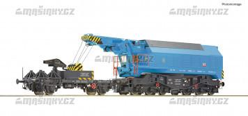 H0 - Digitální železniční otočný jeřáb - ČSD