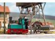 """H0f - Parní lokomotiva """"Frankfurt"""" pro dráhu Bush Feldbahn"""