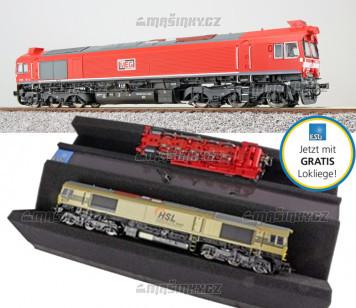 H0 - Dieselová lokomotiva MEG 077 012 (DCC, zvuk, kouř)