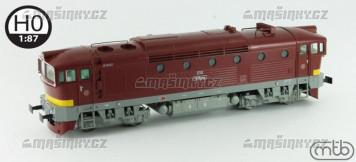 H0 - Dieselová lokomotiva T478.3266 - ČSD (DCC, zvuk)