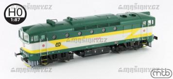 H0 - Dieselová lokomotiva 750 253 - ČD (analog)