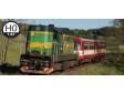 H0 - Dieselová lokomotiva 742 156 - ČD (analog)