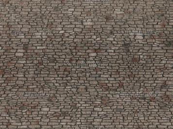 "H0 - 3D strukturovaná fólie ""Kamenné zdivo"""