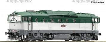 H0 - Dieselová lokomotiva T 478.3 - ČSD (analog)