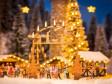 H0 - Vstupní klenba na vánoční trh