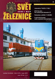 Svět železnice 71 - srpen 2019