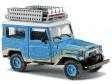 H0 - Toyota Land Cruiser J4 Offroad, modrý