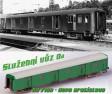 H0 - Služební vůz Da 7159 - ČSD – vozové depo Bratislava