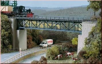 H0 - Železniční příhradový most