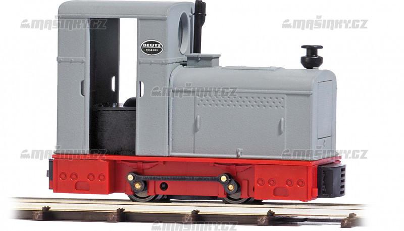 H0f - Dieselová lok. Deutz OMZ 122 F šedá / červená #1