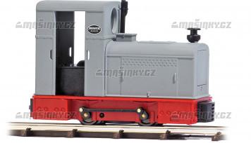 H0f - Dieselová lok. Deutz OMZ 122 F šedá / červená