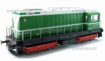 H0 - Dieselová lokomotiva T 435.087 - ČSD