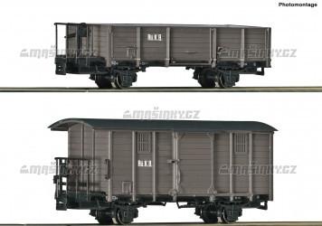 H0e - Set dvou úzkorozchodných vozů - RüKB