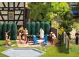 H0 - Set - zahradní nábytek